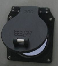 HDPE150R - HDPE Wall Mounted Flap Valves - 150mm
