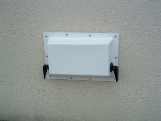 VC001 - <BR><BR><BR>AIR VENT COVER SINGLE BRICK