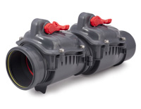 NRDBL01 - Double Backflow VALVE <BR>(sizes  6 inch)